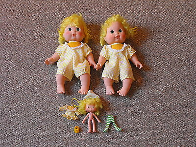 1982 Kenner Strawberry Shortcake Lot of Lemon Meringue Blowkiss & Regular Dolls