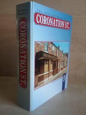 Coronation Street Official Magazines 1 To 12 In Binder