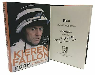 Signed Book - Form: My Autobiography by Kieren Fallon