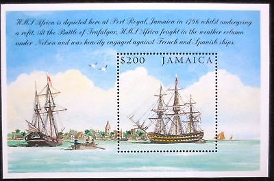 Jamaica Mnh Stamp Sheet 2005 Battle Of Trafalgar Sg Ms1089