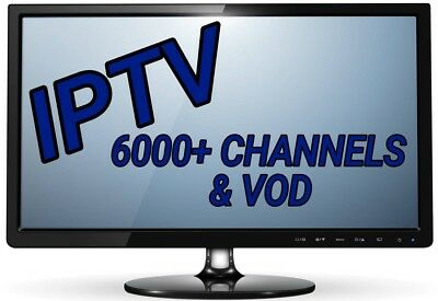 1 Day Pass IPTV Subscription Gift Warranty (6000+ Chan & VOD) PREMIUM SERVICE