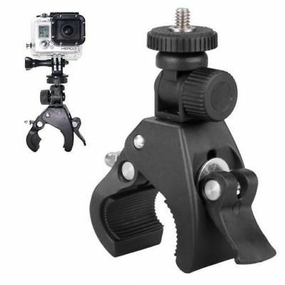 Handlebar For GoPro Hero Camera Seatpost Clamp Roll Bar Mount Adapter