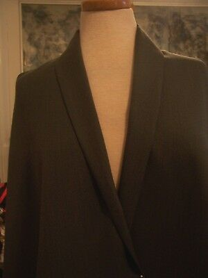 5yd BLACK JACKET OR COAT WGT 50/% CASHMERE 50/% WOOL FABRIC 4yds 3yd