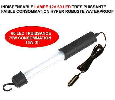 Promo! Jeep Land Range Defender Discovery! Lampe 12V 75W 60 Led Hyper Puissante