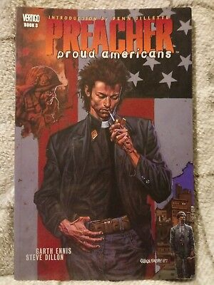 Preacher Book 3 Proud Americans Graphic Novel ISBN 1-85286-850-3