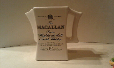 CARAFFA-The MACALLAN Pure Highland Malt Scotch Whisky-WHISKY/WHISKEY WATER JUG