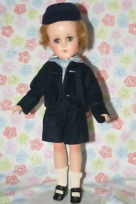 EXCELLENT!! Vintage Arranbee Composition R&B Boy Doll UNplayed With All Original