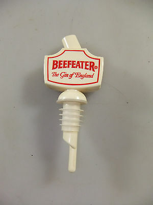 Vintage Beefeater Gin Bottle Top Spout Dispenser Barware Advertising