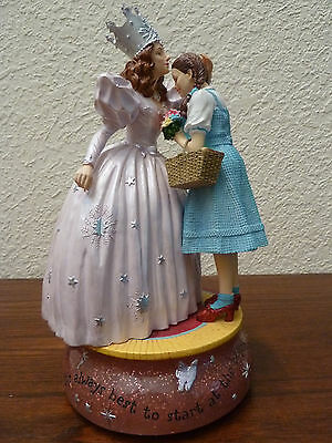 Retired San Francisco Music Box Co Dorothy & Glinda the Good Witch Wizard of Oz