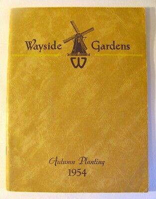 1954 WAYSIDE GARDENS- 128 Page Autumn Planting Catalogue