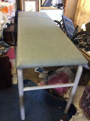 Massage, Beauty Thereapy Table, Wax Bed Steel x 2