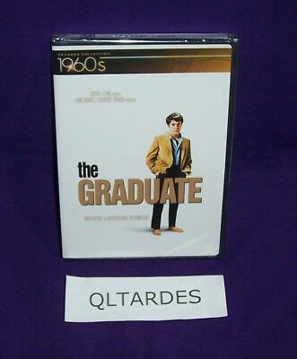 The Graduate DVD 1960s Decades Collection w/ Booklet & CD Factory Sealed NEW!!