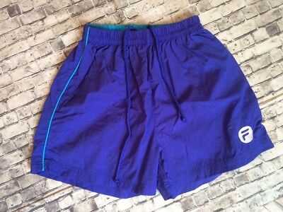 Women's Vintage 90s Fila Swishy Running Workout Shorts Medium
