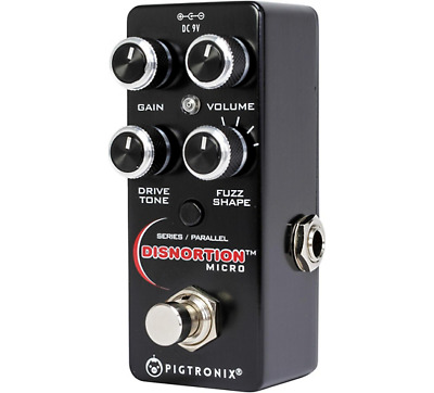NEW Pigtronix OFM Disnortion Micro Pedal Fuzz Overdrive Circuits CMOS