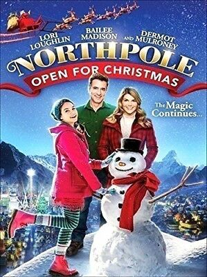 Northpole Open For Christmas  (DVD, 2015, Widescreen)  Brand New
