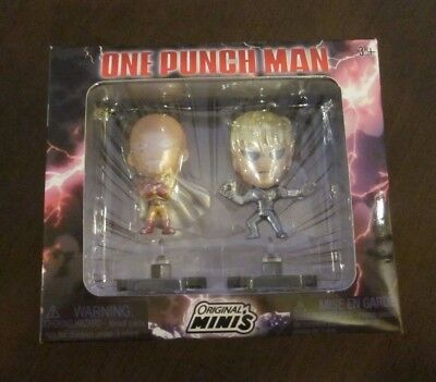 One Punch Man  2-pack Figure * Original Minis Loot Anime Crate *