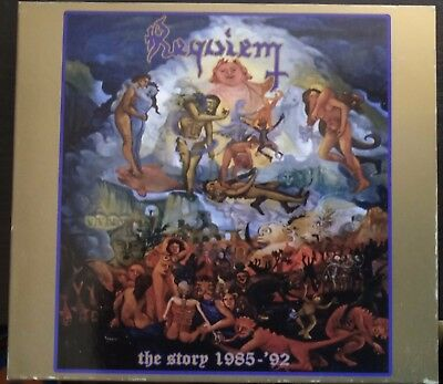 Requiem – The Story 1985-92 2XCD Digipack BloodRock Records – BRRCD 003 Mint