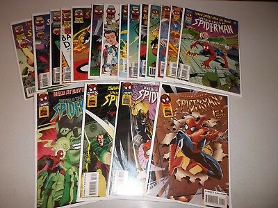 Untold Tales of Spider-Man #1-18 (From the 1995 1-25 series) Lot set run
