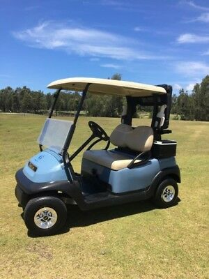 2015/16 # BATTERIES 2 YEARS OLD#Blue Club Car Precedent Electric Golf Cart Buggy