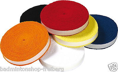 VICTOR Badminton Tennis Squash 12 Meter Griffband Rolle Frottee-Grip