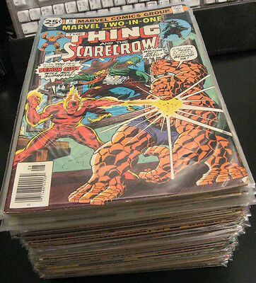 Look! MEGA-LOT of *91* MARVEL TWO-IN-ONE ≈#18-100 w/4 Anns. + *22* THING! VF/VF+