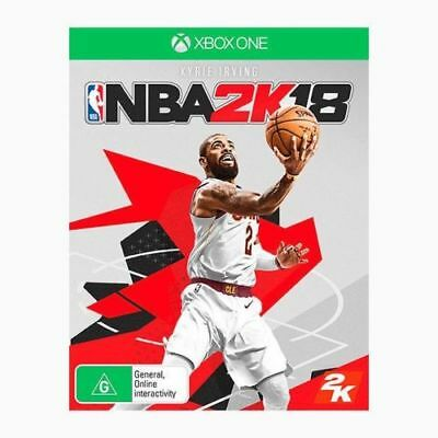 NBA 2k18 (with bonus 5000vc +10 My Team Packs) Xbox One Game EA Brand New