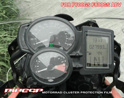Motorcycle Ultra-clear Anti-blue Cluster Protective Film For BMW F800R/RT/GS