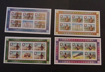 Ghana 1979 Death Cent Rowland Hill sheetlets Imperf MNH UM unmounted mint