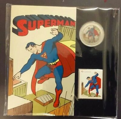 "2013 Canada Superman Coin And Stamp Set ""still Sealed Original Owner"""