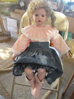 "Handmade Porcelain Doll- ""Shay"" made from a mold-Orig Artist Donna Rubert"