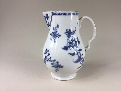 18th C. Chinese Blue & White Sparrow Beak Jug