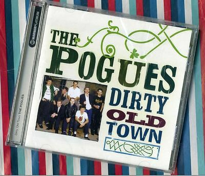 Pogues/Best of New Sealed Dirty Old Town/Platinum CD+Pair Brown Eyes/RainyNight