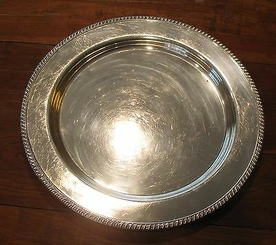 Graff Washbourne Dunn Sterling Silver Serving Platter Bowl Charger Grogan NYC PA
