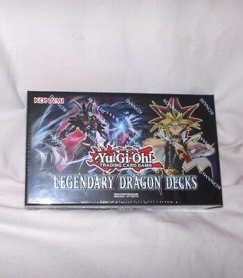 Yu-Gi-Oh -  Legendary Dragon Decks, in deutscher Sprache -Neu,OVP,Lizenz