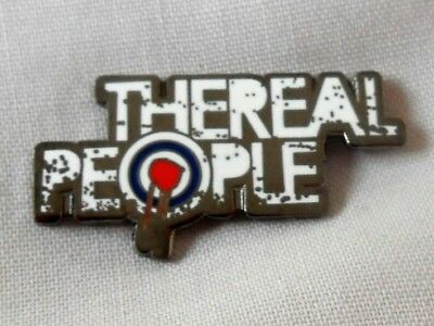 ***NEW*** The Real People enamel pin badge. Monday Morning Breakdown, Mods