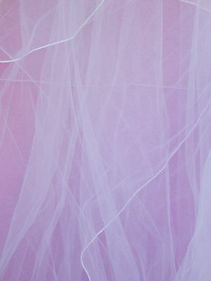 "New Cathedral Length White Wedding Veil Bride Linzi Jay Length 144"" RRP £160 UK"