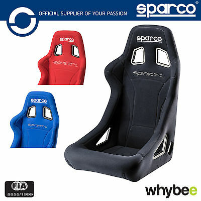 New! 008232L Sparco SPRINT Large XL Race Seat for Rally Motorsport FIA Approved