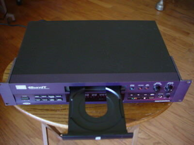 HHB BurnIT CDR-830 Professional CD Recorder Fully Tested Great Working Condition