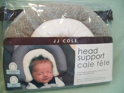 JJ Cole Collections Head Support, Graphite, 0-8 Months