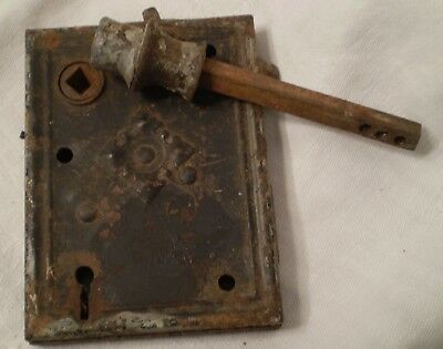 Russell & Erwin Mortise Lock 1880 Patent Date