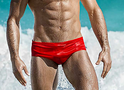 721ab23133 AussieBum Retro Style Nylon Mens Swimsuit Brief cut 3.5
