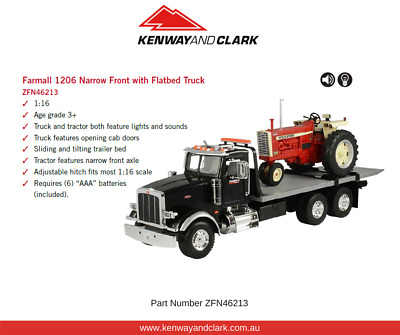 1:16 Farmall 1206 Narrow Front with Flatbed Truck