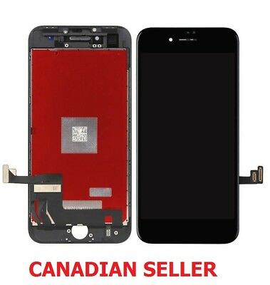 New Black LCD Touch Screen Digitizer Assembly Replacement For iPhone 8 4.7""