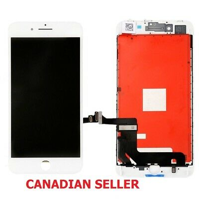 New White LCD Touch Screen Digitizer Assembly Replacement For iPhone 8 4.7""