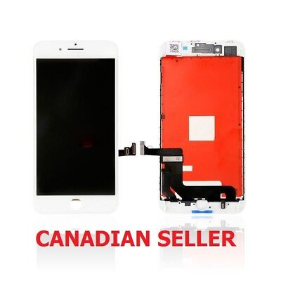 New White LCD Touch Screen Digitizer Assembly Replacement For iPhone 8 Plus 5.5""