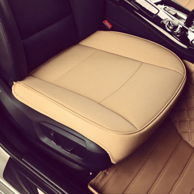 US Soft PU Leather Deluxe Car Cover Seat Protector Cushion Front Cover Universal