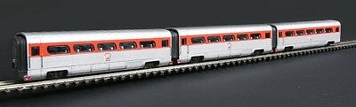 Con-Cor - AeroTrain Add-On 3-Car Coach Set -- PRR 1956 N