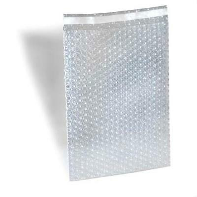 """8"""" x 15.5"""" Clear Bubble Out Bags Padded Envelopes Shipping Self Seal 2100 Pieces"""