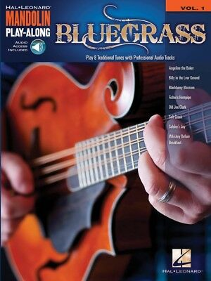 Bluegrass - Mandolin Play-Along Volume 1- Music Book with Play Along Audio