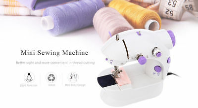 Mini Sewing Machines Handheld Dual Speed Automatic Tread Rewind Sewing Machine